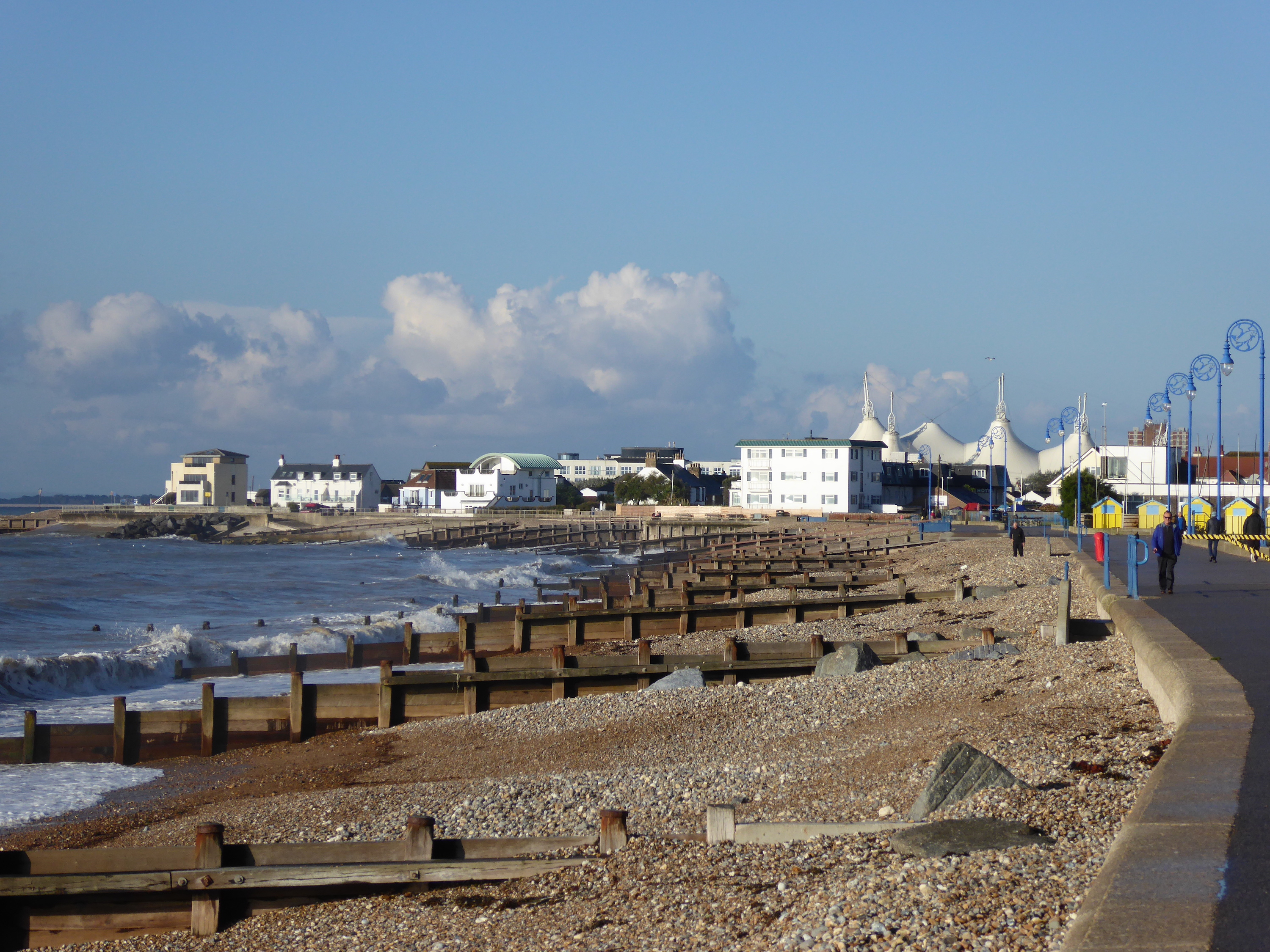 View towards Butlins Southcoast World